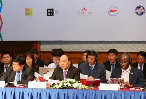 Ouverture du Forum annuel des entreprises Vietnam 2016 hinh anh 1