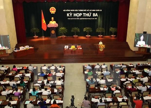 Le Conseil populaire de HCM-Ville discute des mesures pour regler les questions pressantes hinh anh 1