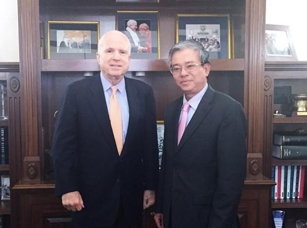 Promouvoir le partenariat integral Vietnam-Etats-Unis hinh anh 1