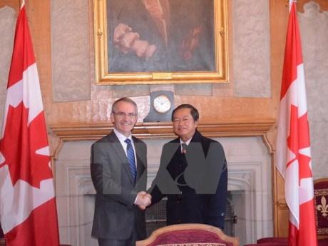 Le Vietnam et le Canada approfondissent leurs relations bilaterales hinh anh 1