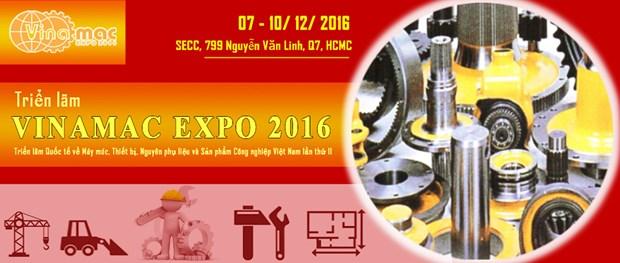 Ho Chi Minh-Ville : 250 entreprises a la 11e Vinamac Expo hinh anh 1