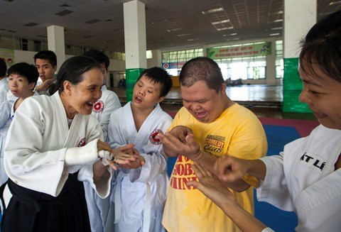Une classe d'aikido tres speciale a Ho Chi Minh-Ville hinh anh 2