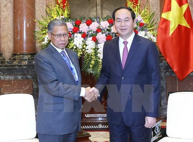 Le Vietnam et la Malaisie visent 15 mds de dollars d'echanges commerciaux hinh anh 1