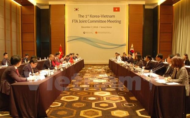 Vietnam et R. de Coree conviennent de renforcer leur cooperation economique hinh anh 1