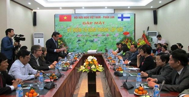 Renforcement de la cooperation et de l'amitie Vietnam-Finlande hinh anh 1
