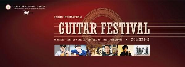 Ouverture du Festival International de la guitare a Ho Chi Minh-Ville hinh anh 1