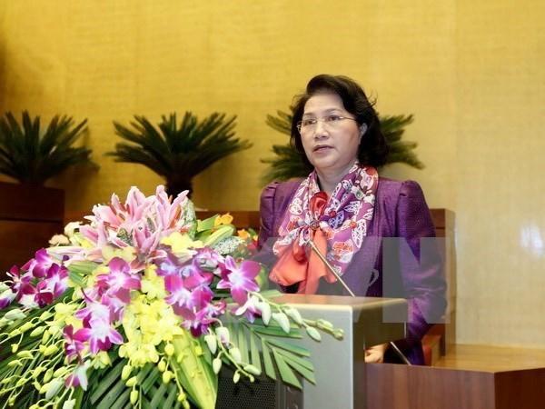 Valorisation du role et de la position du Vietnam au Sommet mondial des presidentes de parlement hinh anh 1