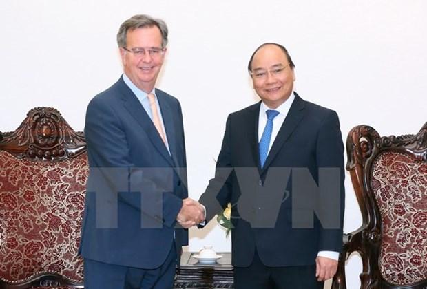 Le Premier ministre Nguyen Xuan Phuc plaide pour une cooperation accrue avec l'Espagne hinh anh 1