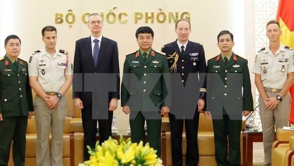 Le Vietnam veut s'inspirer de l'experience francaise en matiere de maintien de la paix hinh anh 1