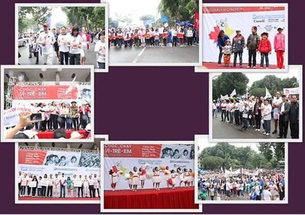 Plus de 1.000 participants a la course