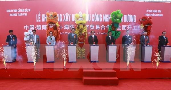 175 millions de dollars pour la construction de la ZI An Duong a Hai Phong hinh anh 1