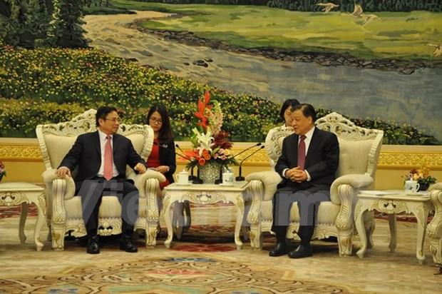 Vietnam et Chine devraient continuer a realiser les conceptions communes hinh anh 1