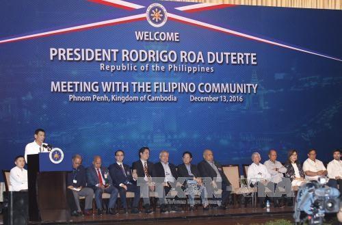 Le Cambodge et les Philippines intensifient leurs relations de cooperation hinh anh 1