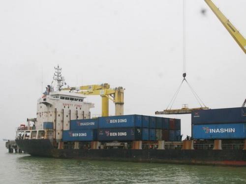 Le port de Da Nang recoit sa 7 millionieme tonne de marchandises hinh anh 1