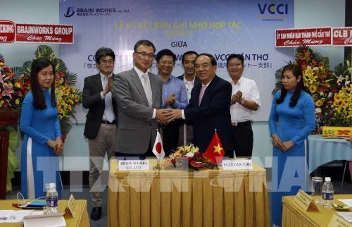 Signature d'un memorandum de cooperation commerciale Vietnam-Japon hinh anh 1