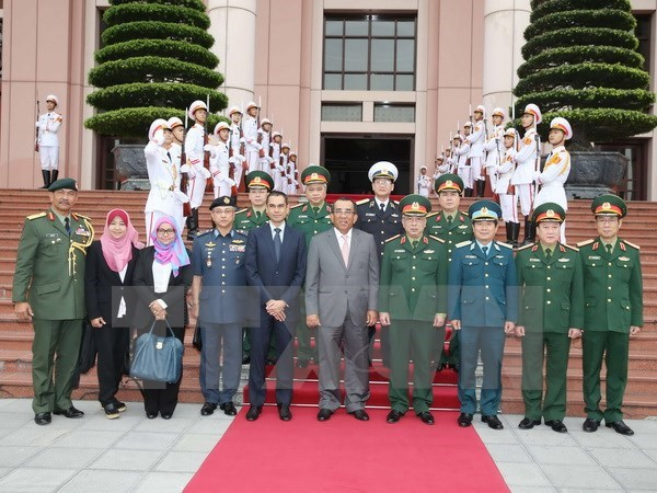 Renforcement des liens dans la defense Vietnam-Malaisie hinh anh 1