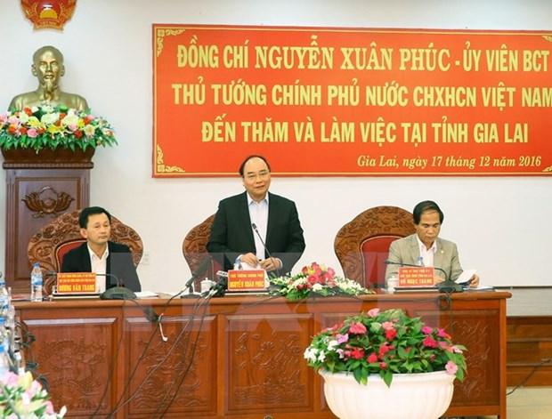 Le Premier ministre exhorte Gia Lai a mieux exploiter l'espace culturel des Gongs hinh anh 1