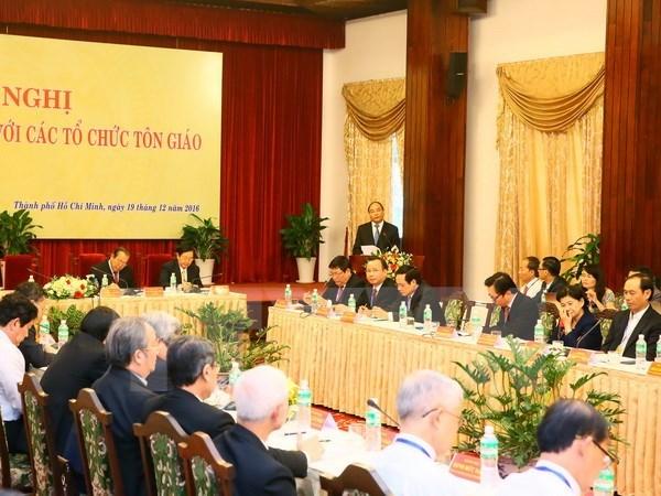 Le Parti et l'Etat affirment la politique consequente de respecter la liberte de croyance du peuple hinh anh 1