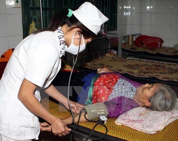 Des medecins vietnamiens offrent des medicaments aux anciens combattants laotiens hinh anh 1