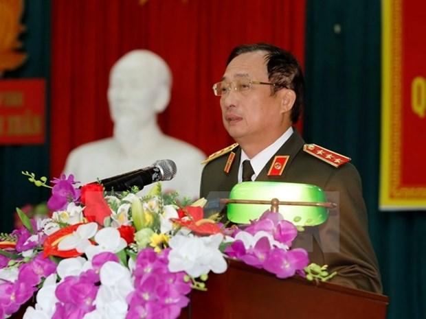 Une delegation du ministere vietnamien de la Securite publique a Lyon hinh anh 1