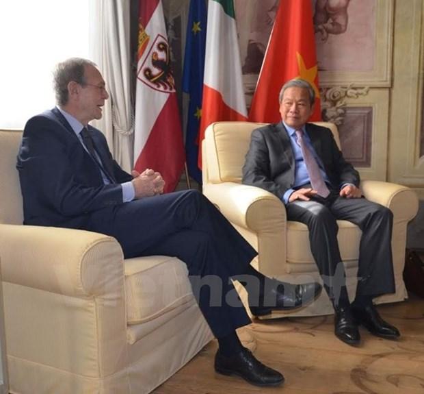 Vers une cooperation decentralisee accrue entre l'Italie et le Vietnam hinh anh 1