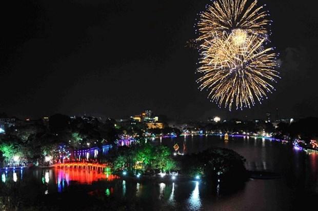 Tet : Hanoi tirera des feux d'artifice sur 30 sites hinh anh 1