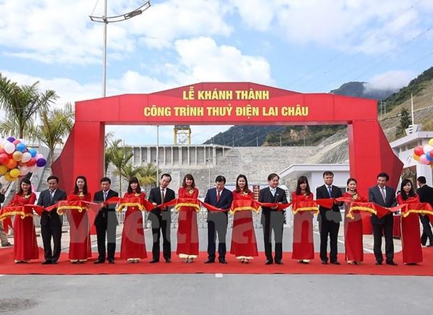 Inauguration de la centrale hydroelectrique de Lai Chau hinh anh 1