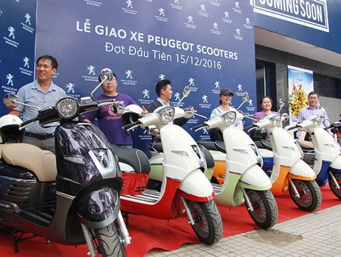 Peugeot Scooters s'installe au Vietnam hinh anh 1