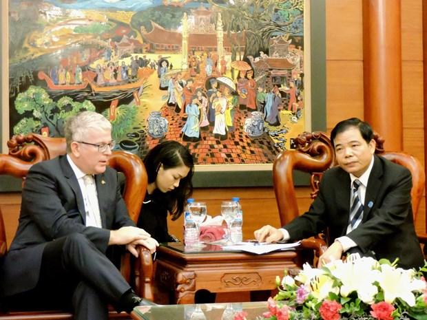 Cooperation Vietnam-Australie dans le commerce agricole hinh anh 1