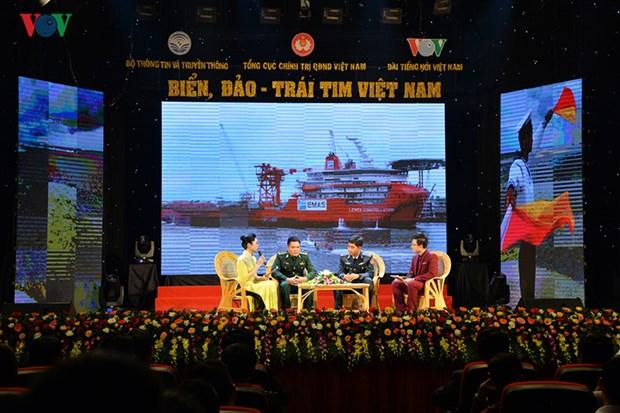 """Impressionnant programme """"Mer et iles - Cœur du Vietnam"""" hinh anh 1"""