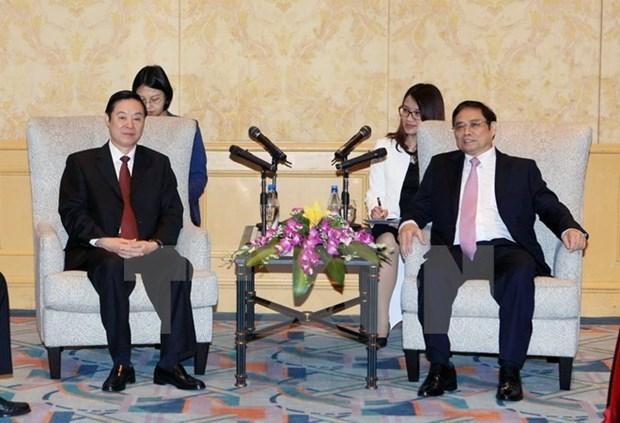 Le Vietnam et la Chine partagent des experiences dans l'edification du Parti hinh anh 1