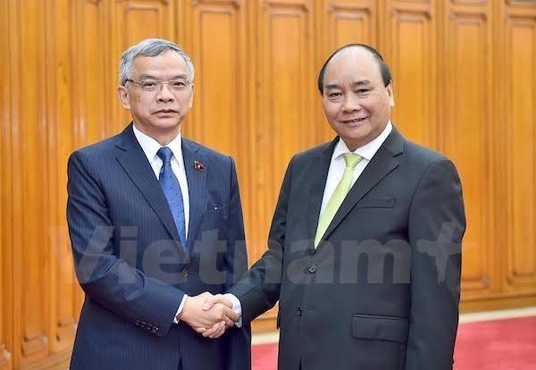 Nguyen Xuan Phuc recoit le ministre laotien des Ressources naturelles et de l'Environnement hinh anh 1