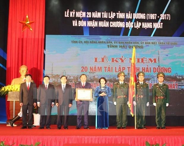 Realisations impressionnantes de Hai Duong 20 ans apres sa refondation hinh anh 1