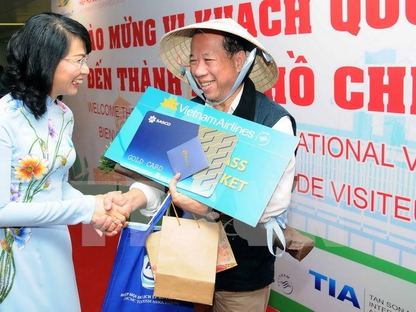 Ho Chi Minh-Ville accueille son 5 millionnieme touriste etranger hinh anh 1