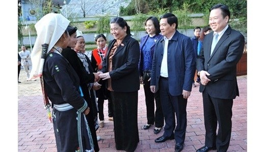 Cao Bang exhortee a accelerer la restructuration de l'agriculture hinh anh 1