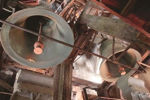 Les cloches de la cathedrale Notre-Dame de Saigon hinh anh 1