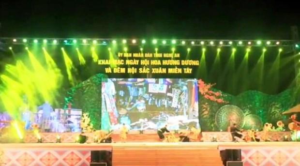 Ouverture du Festival du tournesol de Nghe An hinh anh 1