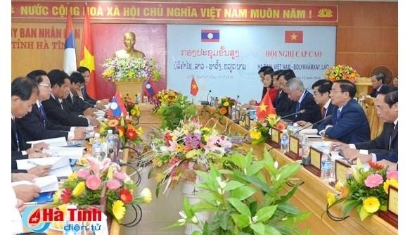 Renforcement des relations d'amitie et de la cooperation entre Ha Tinh et Bolykhamsay hinh anh 1
