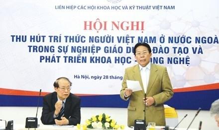 Les Viet kieu, levier du developpement scientifique et technologique du pays hinh anh 1