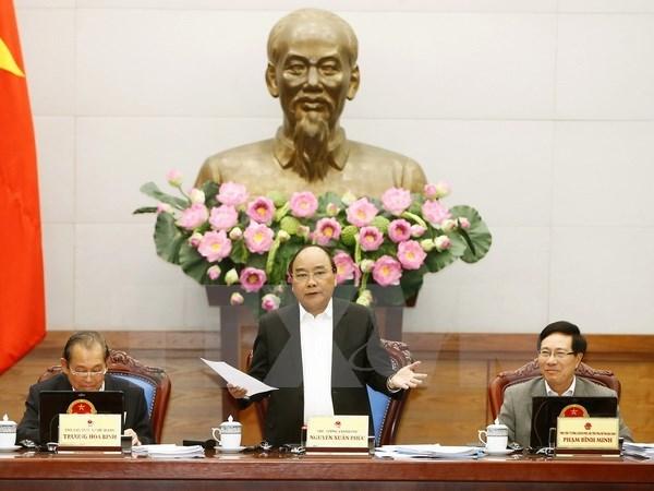 Le PM preside la reunion gouvernementale du dernier mois de 2016 hinh anh 1