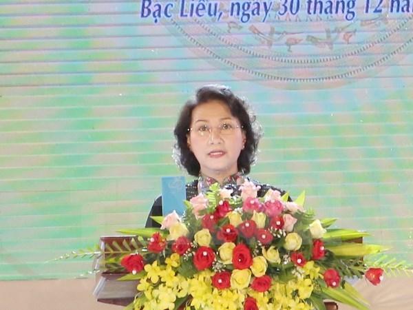 Celebration des 20 ans de la refondation de la province de Bac Lieu hinh anh 1