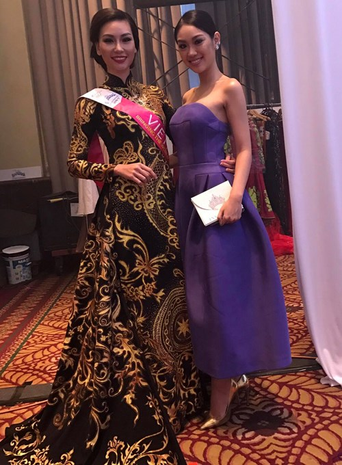 Le Vietnam remporte le meilleur costume traditionnel aux 19e Miss Tourisme International hinh anh 1