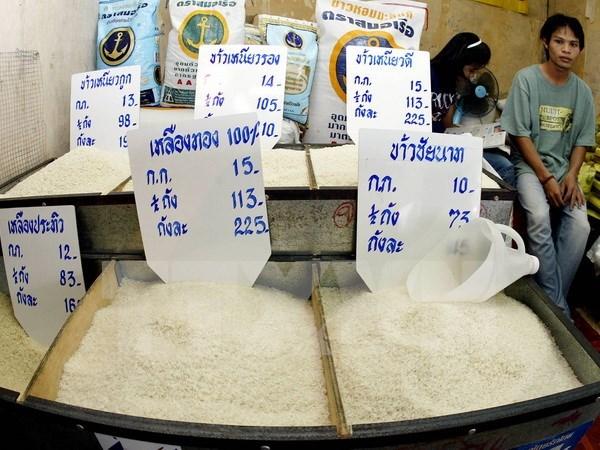 La Thailande prevoit d'exporter 10 millions de tonnes de riz en 2017 hinh anh 1