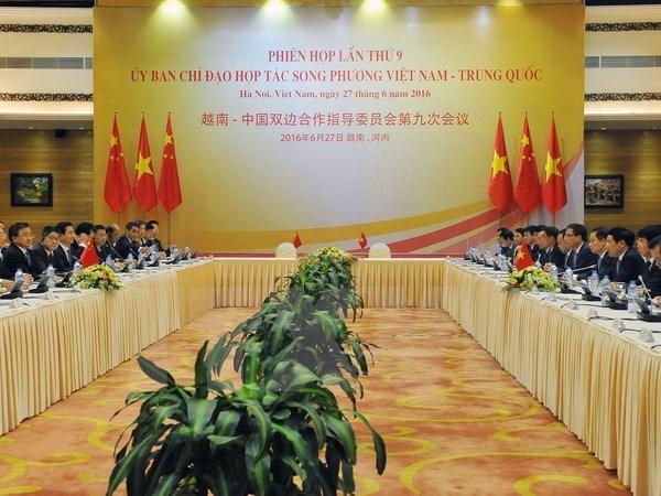 Les relations Vietnam-Chine s'orientent vers un developpement sain et durable hinh anh 1