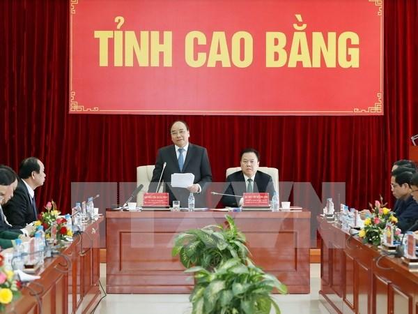 Cao Bang exhortee a etre une localite exemplaire dans la lutte contre la pauvrete hinh anh 1