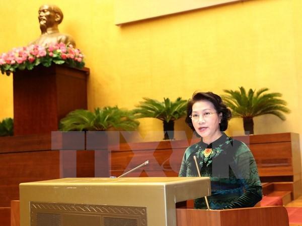 Conference de deploiement des taches 2017 du Bureau de l'Assemblee nationale hinh anh 1
