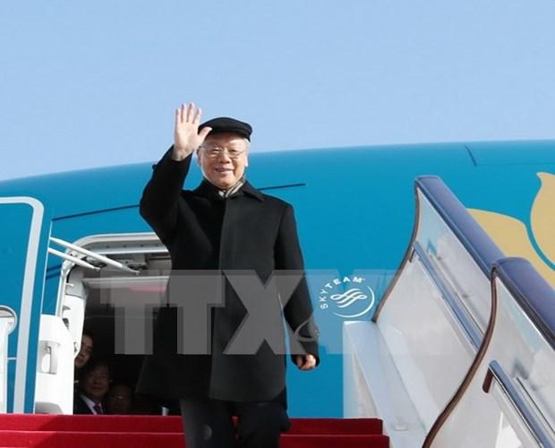 Une visite importante pour les relations Vietnam-Chine en cette nouvelle periode hinh anh 1