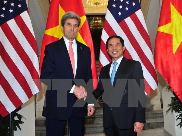 Le secretaire d'Etat des Etats-Unis John Kerry en visite au Vietnam hinh anh 1