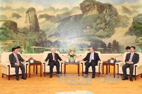 Le Vietnam apprecie les experiences de la Chine dans la lutte contre la corruption hinh anh 1