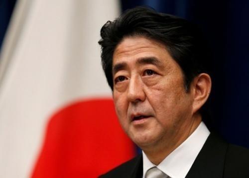 Le Premier ministre japonais et son epouse en visite officielle au Vietnam hinh anh 1